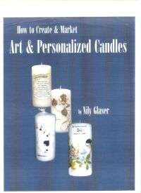 How to create and market art and personalized candles - a manual