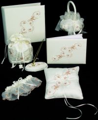 Champagne wedding accessories collection 6