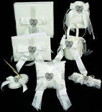 Celtic theme wedding accessories collection