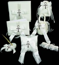 ankh wedding accessories for african american and ancient egypt theme weddings