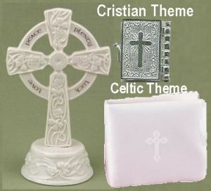 Christian and celtic theme wedding accessories and gifts