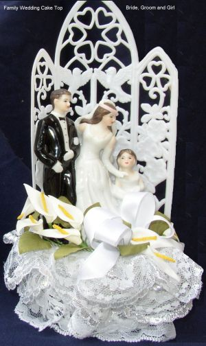 Check out our assortment of cake tops including for theme weddings