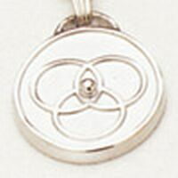 blending family unity medallion pendant