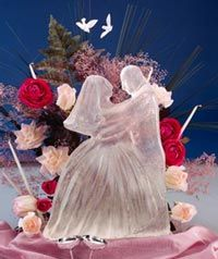 make your own bride and groom ice sculpture 209