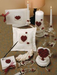 Rose Theme Wedding Gifts and Accessories